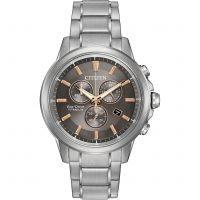 Mens Citizen Sport Ti Chronograph Eco-Drive Watch
