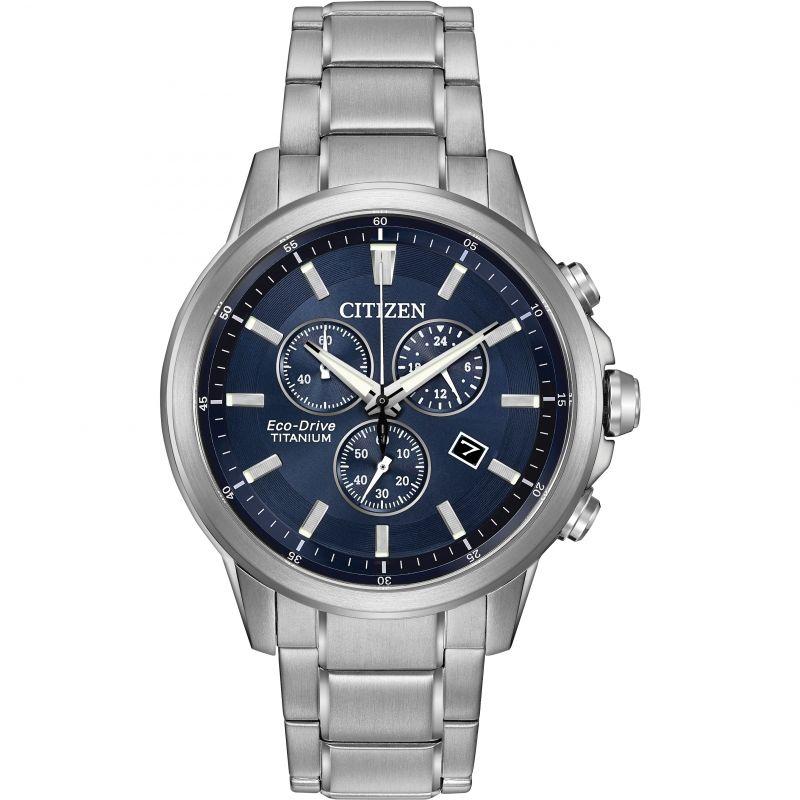 Mens Citizen Sport Ti Titanium Chronograph Watch