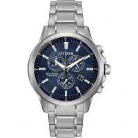 Mens Citizen Sport Ti Titanium Chronograph Eco-Drive Watch