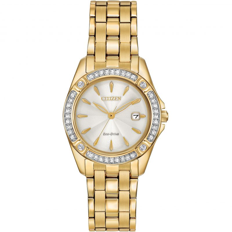 Ladies Citizen Silhouette Crystal Watch EW2352-59P