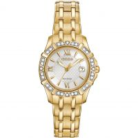 Ladies Citizen Silhouette Diamond Watch EW2362-55A