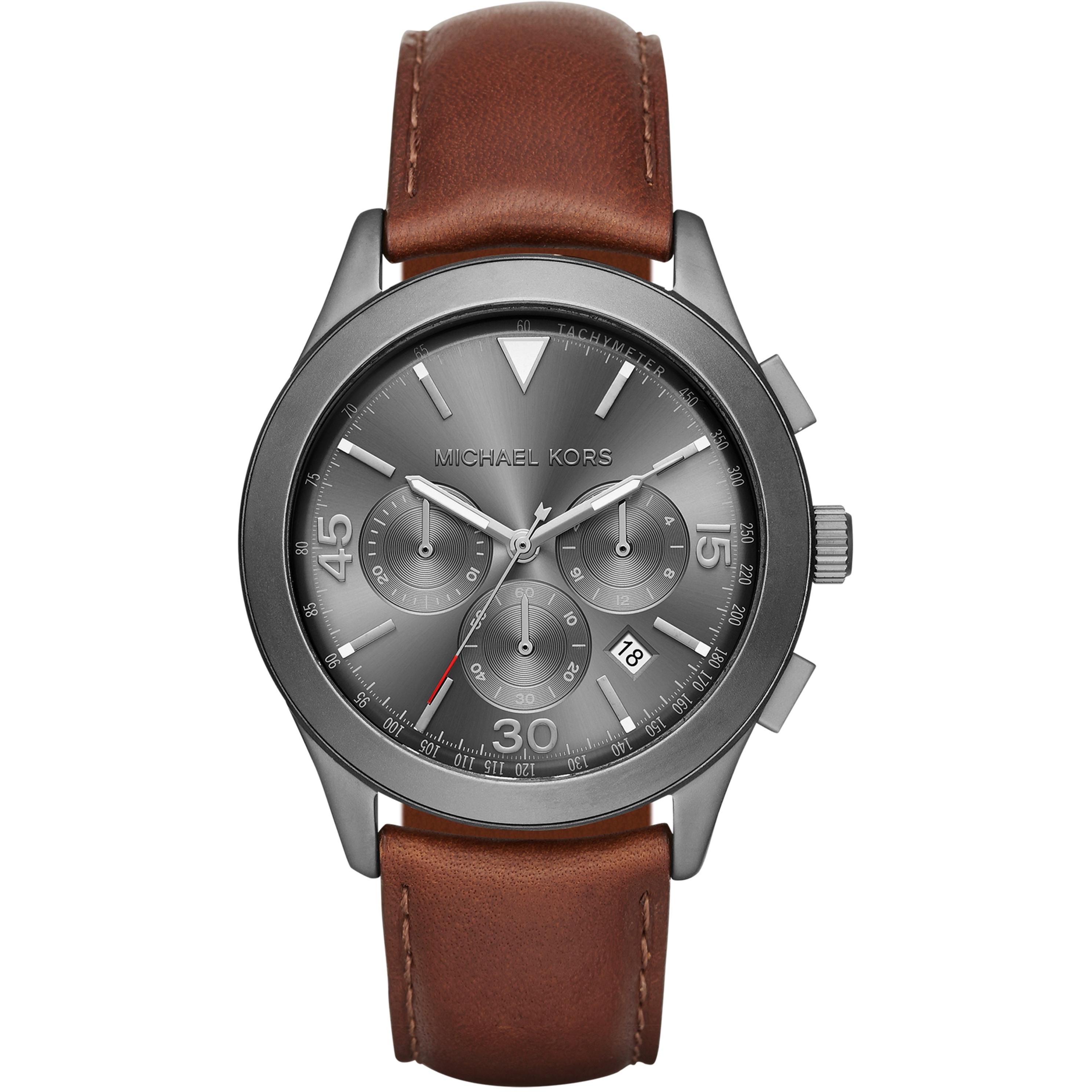 8a583bba0e 1e0d6f204e29 Gents Michael Kors Gareth Chronograph Watch (MK8471) ...
