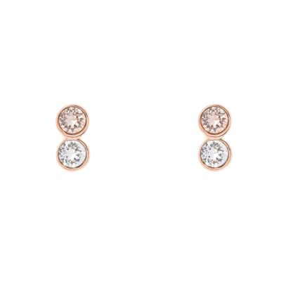 Ladies Karen Millen PVD rose plating TINY DOT STUD EARRING KMJ891-24-07