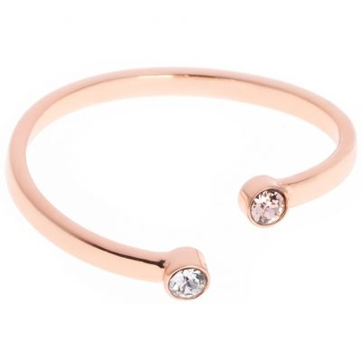 Damen Karen Millen Medium/Large TINY DOT Ring PVD rosévergoldet KMJ893-24-07ML