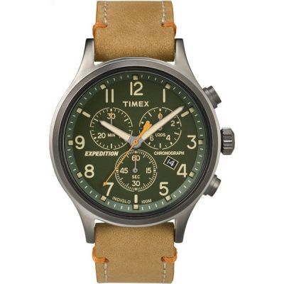 Timex Expedition Expedition Herrenchronograph in Braun TW4B04400
