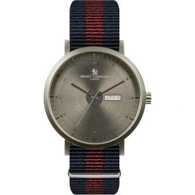 Smart Turnout City Household Division Herrenuhr in Blau STG1/CH/56/W-HD