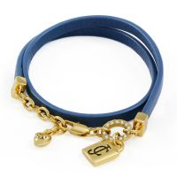 Ladies Juicy Couture PVD Gold plated JC PADLOCK BRACELET WJW809-403