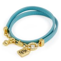 Ladies Juicy Couture PVD Gold plated JC PADLOCK BRACELET WJW809-340