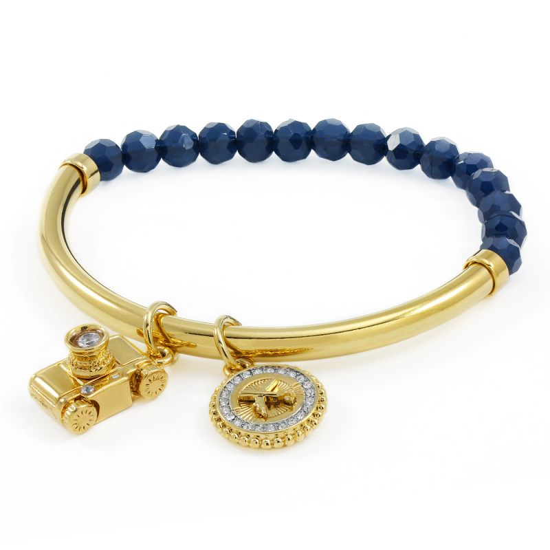 Ladies Juicy Couture PVD Gold plated JET SET BRACELET WJW807-403