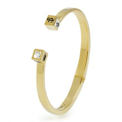 Ladies Juicy Couture PVD Gold plated ICONIC BRACELET WJW775-710