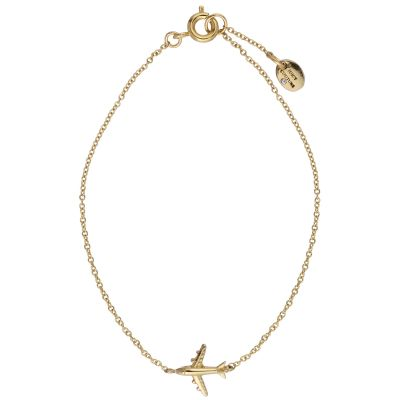 Juicy Couture Dames JET SET NECKLACE PVD verguld Goud WJW810-710