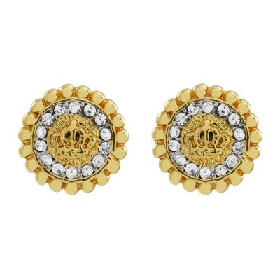 Biżuteria damska Juicy Couture Jewellery Jet Set Stud Earrings WJW787-710