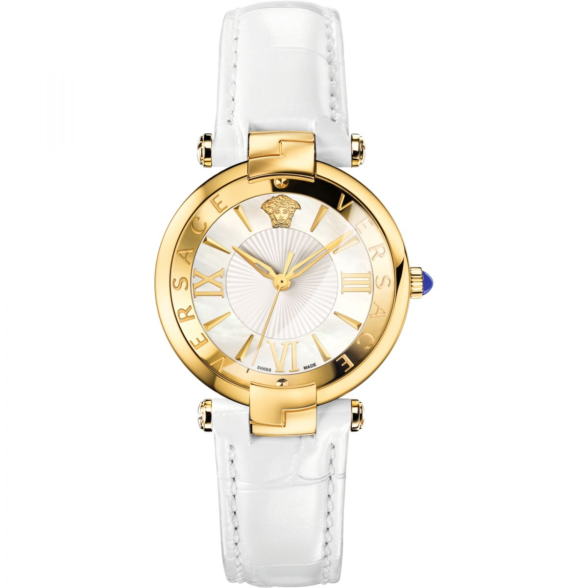 versace revive 35mm reloj para mujer blanco vai030016 es watch shop. Black Bedroom Furniture Sets. Home Design Ideas