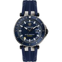 Mens Versace V-Race Diver Watch VAK020016