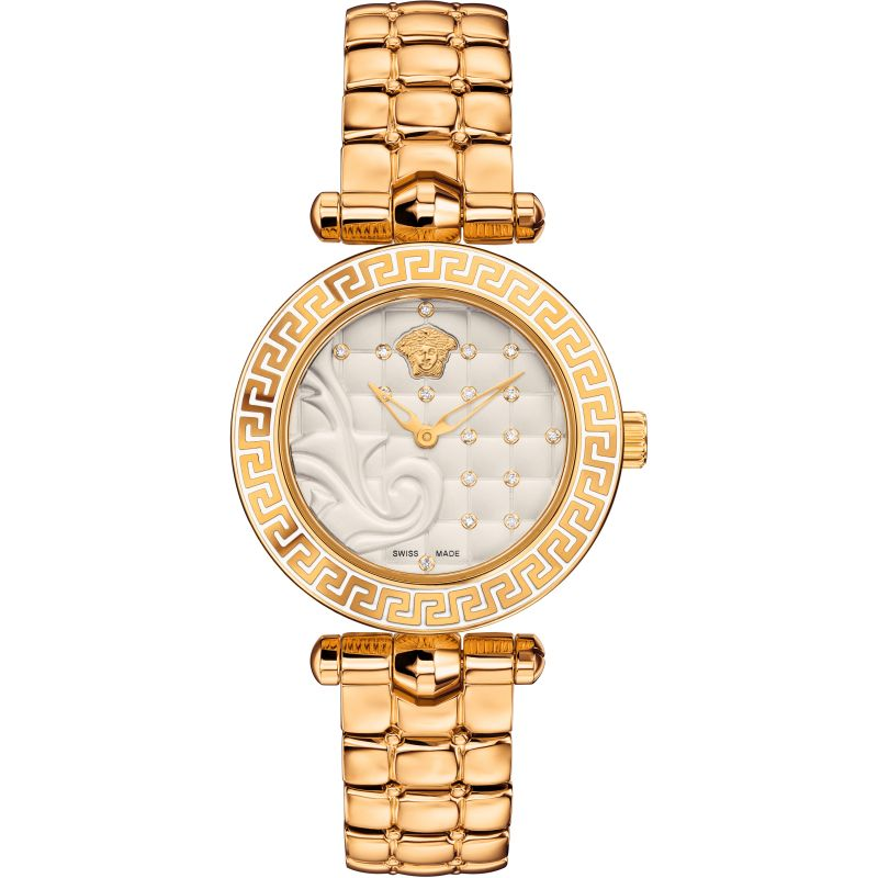 Ladies Versace Micro Vanitas 30 Mm Watch VQM120016