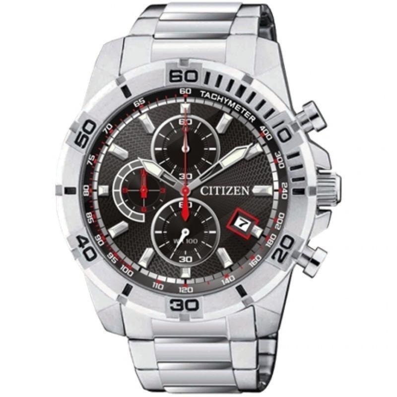 Mens Citizen Quartz Chronograph Watch