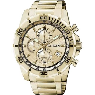 Mens Citizen Quartz Chronograph Watch AN3492-50P