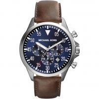 Mens Michael Kors Gage Chronograph Watch MK8362