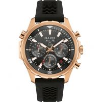Mens Bulova MARINE STAR Chronograph Watch
