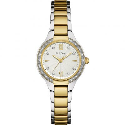 Ladies Bulova Diamond Gallery Diamond Watch 98W221