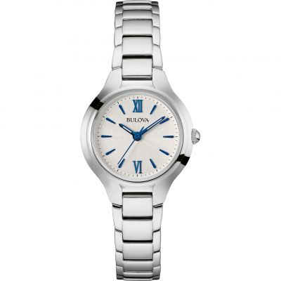 Bulova Dress Dameshorloge Zilver 96L215