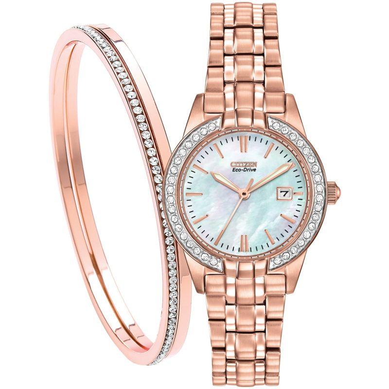 Ladies Citizen Ladies Gift Set Watch