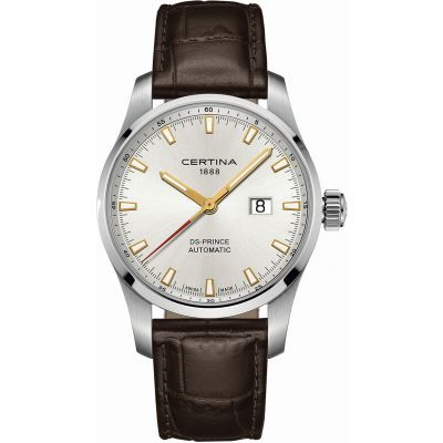 Mens Certina DS Prince Automatic Watch C0084261603100