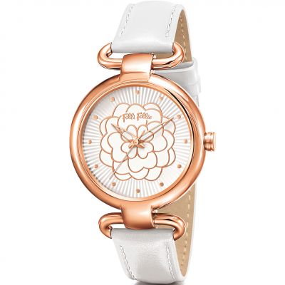 Ladies Folli Follie SANTORINI FLOWER Watch 6010.2034