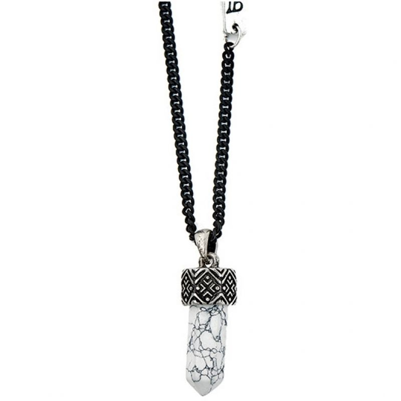 Icon Brand Base metal All Weekend Necklace P1048-N-WHT