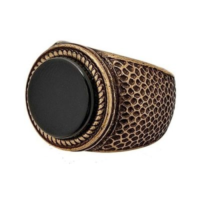 Icon Brand Unisex Legend In The Making Ring Basmetall P1061-R-GLD-LGE
