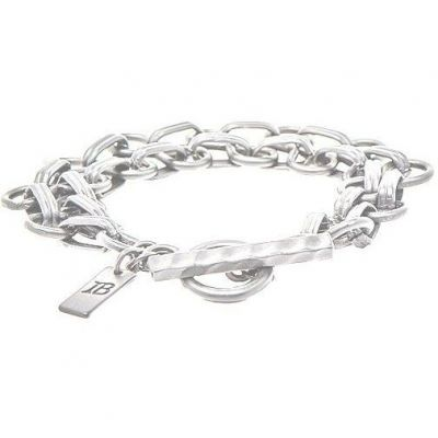 Icon Brand Base metal Superconnected Bracelet P1078-BR-SIL