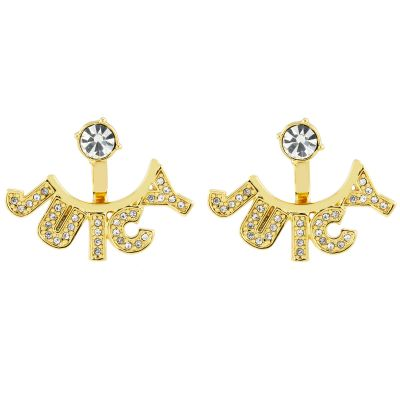 Bijoux Femme Juicy Couture Juicy Tags Jacket Boucles d'oreilles WJW919-710-U