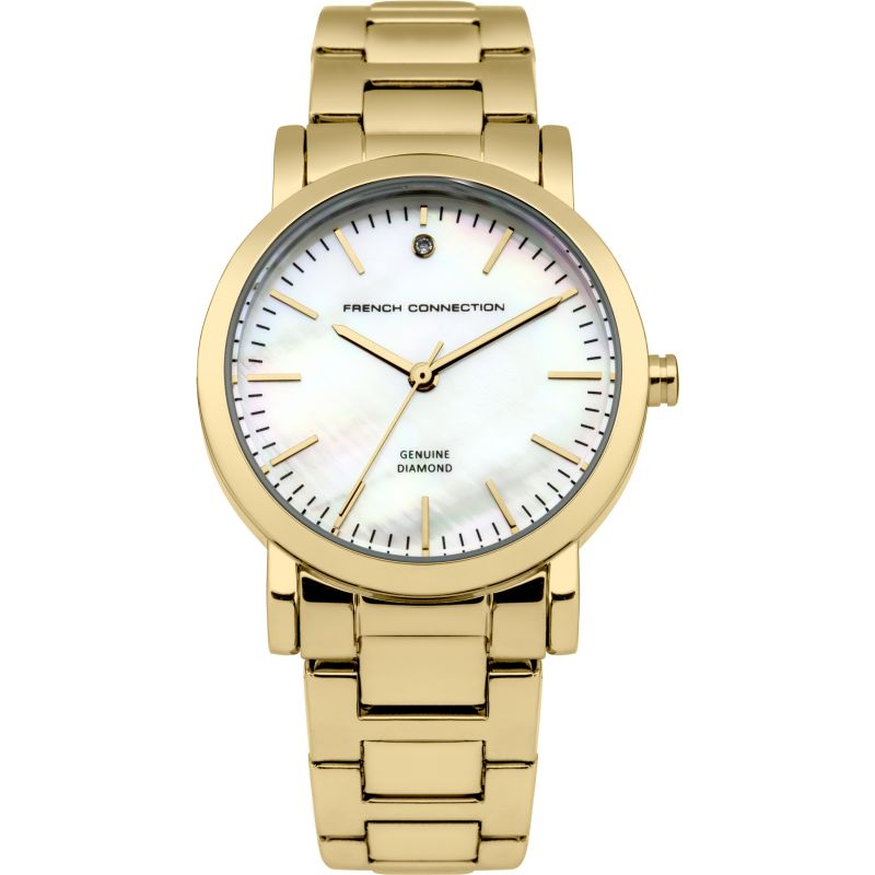 Ladies French Connection Diamond Watch FC1250GM