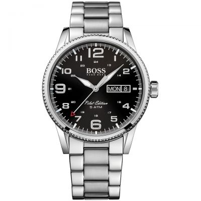 Mens Hugo Boss Pilot Vintage Watch 1513327
