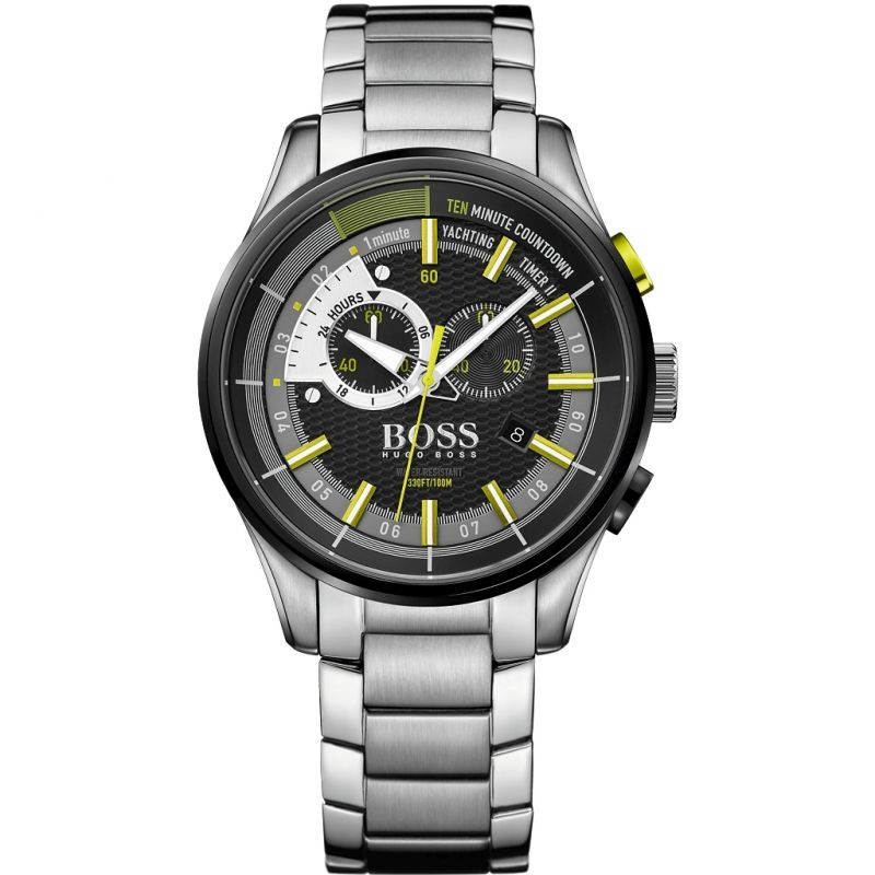 Mens Hugo Boss Yachting Timer II Chronograph Watch 1513336
