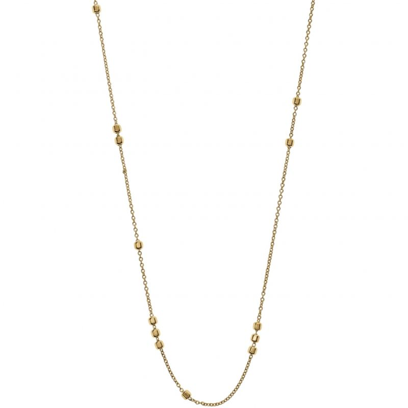 Ladies Emporio Armani PVD Gold plated Finesse Necklace EG3266710