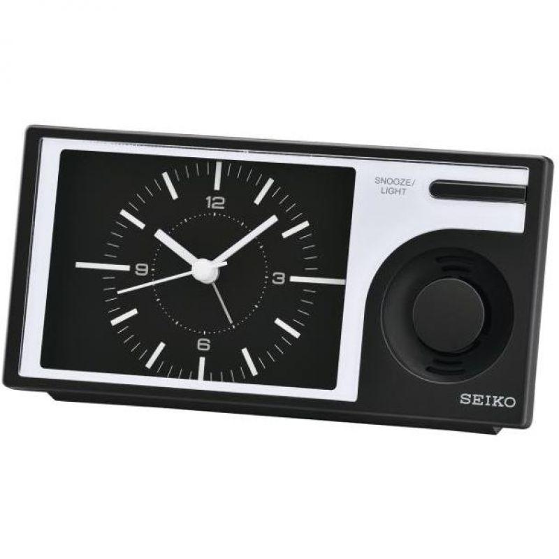 Image of            Seiko Clocks Melody Bedside Alarm Clock