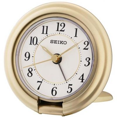 Seiko Clocks Travel Alarm Clock QHT014G