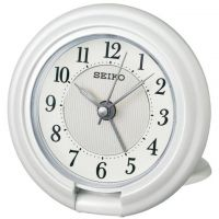 Seiko Clocks Travel Alarm Clock QHT014W