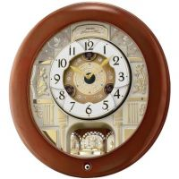 Seiko Clocks Musical Marionette Wall Alarm Clock