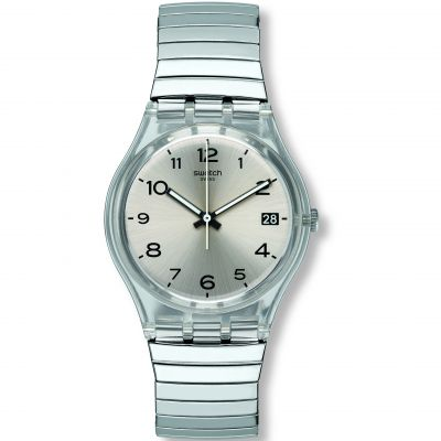 Swatch Original Gent Originals Gent -Silverall L Damenuhr in Silber GM416A