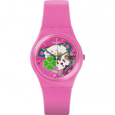Swatch Originals Gent -Flowerfull Unisex horloge Roze GP147