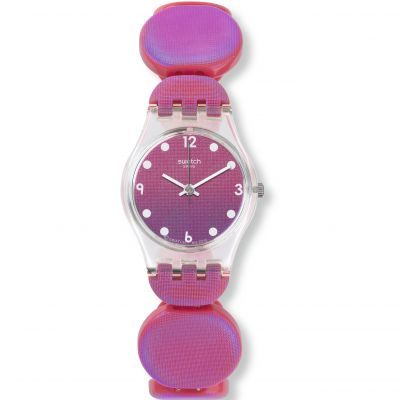 Ladies Swatch Originals Lady -Moving Pink L Watch LK357A