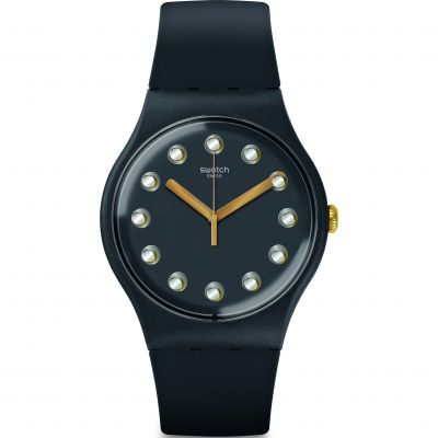 Swatch New Gent -Passe Temps Dameshorloge Blauw SUOM104