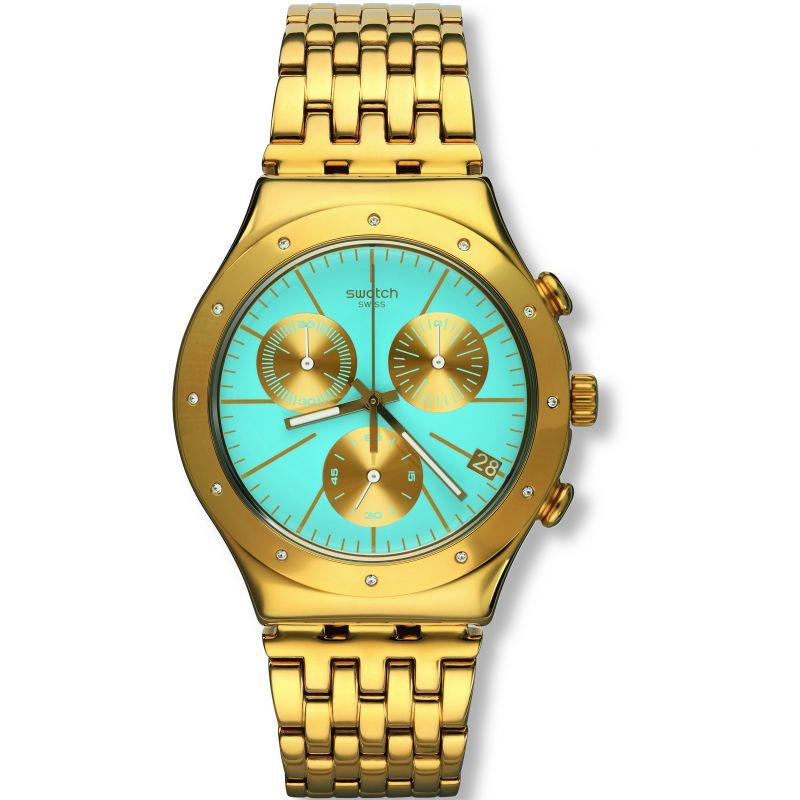 Ladies Swatch Irony Chrono -Turchesa Chronograph Watch