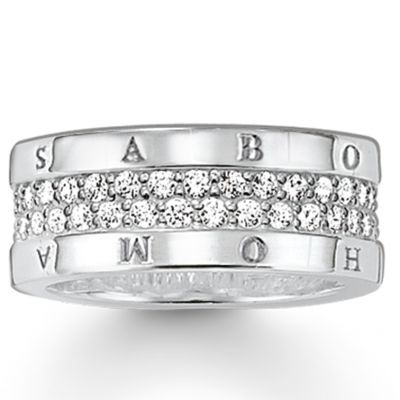 Bijoux Thomas Sabo Sterling Silver Bague TR1939-051-14-52