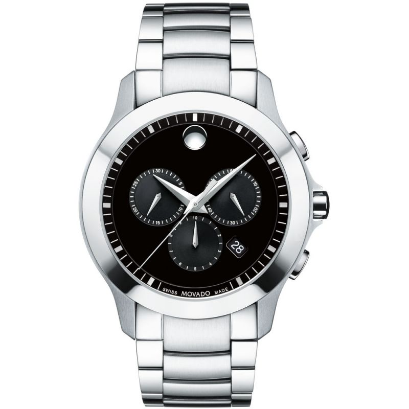 Mens Movado Masino Chronograph Watch