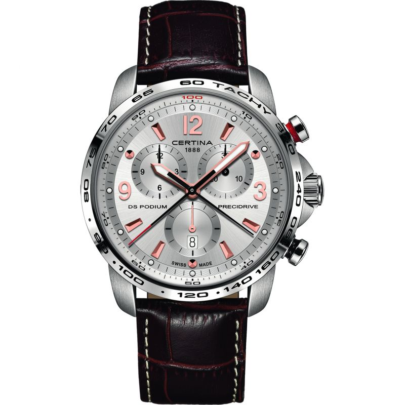 Image of Mens Certina DS Podium Precidrive Chronograph Watch