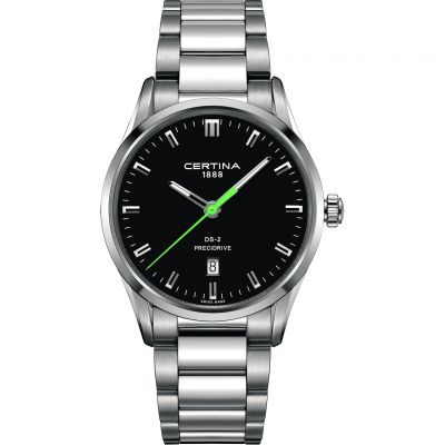 Certina DS-2 Precidrive Herrenuhr in Silber C0244101105120