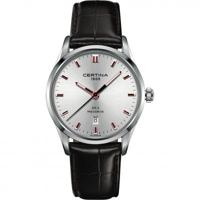 Certina DS-2 Precidrive Herrenuhr in Braun C0244101603121